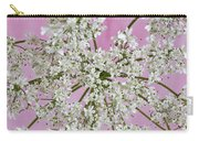 White Wild Cow Parsnip Flower Carry-all Pouch