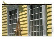 White Windows Yellow Wall Carry-all Pouch