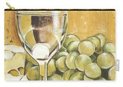 White Wine And Cheese Carry-all Pouch