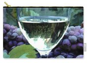 White Wine Reflections Carry-all Pouch