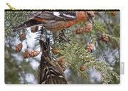 White-winged Crossbills Carry-all Pouch