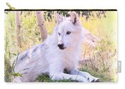 White Wolf Taking It Easy Carry-all Pouch