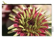 White Zinnia Carry-all Pouch