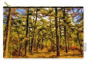 Whitebog Village Woods In New Jersey  Carry-all Pouch