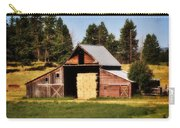 Whitefish Barn Carry-all Pouch by Marty Koch