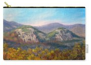 Whitehorse And Cathedral Ledges From The Red Jacket Inn Carry-all Pouch