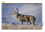 Whitetail Buck On A Ridge Carry-all Pouch