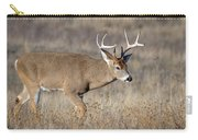 Whitetail Buck On The Move Carry-all Pouch