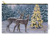 Whitetail Christmas Carry-all Pouch