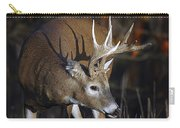 White-tailed Deer Antler Shadow Carry-all Pouch