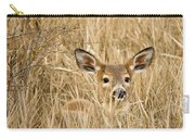 Whitetail In Weeds Carry-all Pouch