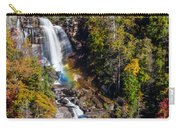 Whitewater Falls With Rainbow Carry-all Pouch