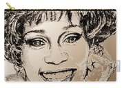Whitney Houston In 1992 Carry-all Pouch