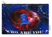 Who Are You  Carry-all Pouch by Rob Hawkins