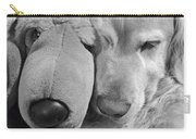 Who Has The Biggest Nose Golden Retriever Dog  Carry-all Pouch