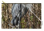 Who Is There - Great Blue Heron Carry-all Pouch
