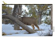Who Me?  Oh Deer Carry-all Pouch