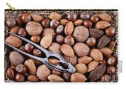 Whole Nuts In A Basket Carry-all Pouch