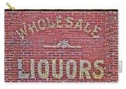 Wholesale Liquors Carry-all Pouch