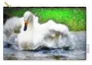 Whooper Swan Flutter Carry-all Pouch