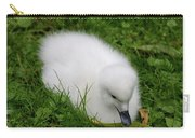 Whooper Swan Juvenile  Carry-all Pouch