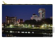 Wichita Skyline At Dusk Carry-all Pouch