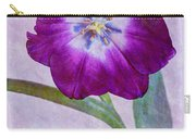 Wide Open Tulip Carry-all Pouch