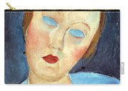Wife Of The Painter Survage Carry-all Pouch by Amedeo Modigliani