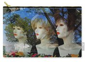 Wig Shop Window Carry-all Pouch