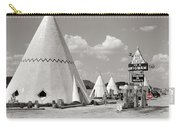 Wigwam Village #2 Coca-cola Sign Marion Post Wolcott  Cave City Kentucky July 1940-2014 Carry-all Pouch