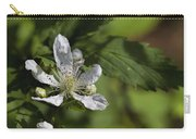 Wild Alabama Blackberry Blossom Carry-all Pouch