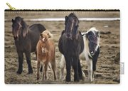 Wild And Free Carry-all Pouch by Evelina Kremsdorf