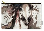 Wild Arabian Horse Carry-all Pouch