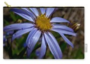 Wild Aster Flower Carry-all Pouch