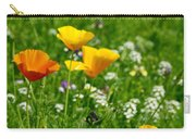 Poppies 3 - Wild At Heart Carry-all Pouch
