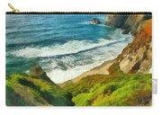 Wild Beach Carry-all Pouch