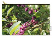 Wild Beautyberry Bush Carry-all Pouch