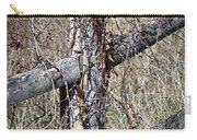 Wild Berries On Fence Carry-all Pouch