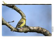 Wild Birds - American Goldfinch Carry-all Pouch