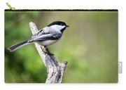 Wild Birds - Black Capped Chickadee Carry-all Pouch