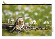 Wild Birds - Field Sparrow Carry-all Pouch