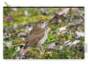 Wild Birds Hermit Thrush Carry-all Pouch