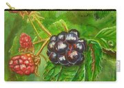 Wild Blackberries Carry-all Pouch