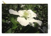 Wild Blackberry Blossom Carry-all Pouch