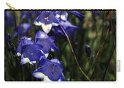 Wild Blue Bells Carry-all Pouch