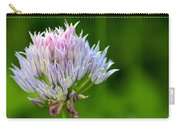 Wild Blue - Chive Blossom Carry-all Pouch by Adam Romanowicz