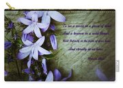 Wild Blue Flowers And Innocence 2 Carry-all Pouch