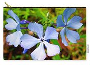 Wild Blue Phlox Near Hastings-michigan   Carry-all Pouch