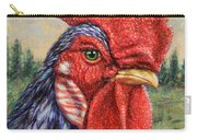 Wild Blue Rooster Carry-all Pouch