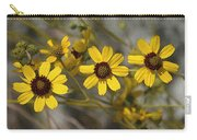 Wild Brittle Bush Flowers Carry-all Pouch
